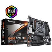 Tarjeta Madre Gigabyte B450 Aorus M, AM4 AMD B450 MAX 64GB DDR4 Micro ATX