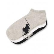 Polo Ralph Lauren 3-Pack Sneaker Pony Socks Black/Grey/White