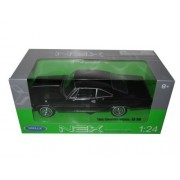 1965 Chevrolet Impala Ss 396 Black Street Car 1/24 By Welly 22417