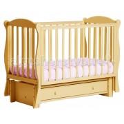 Кубаньлесстрой Детская кроватка Кубаньлесстрой БИ 42.3 Кубаночка-6 маятник продольный
