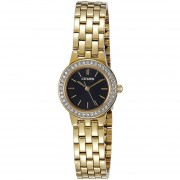 Reloj Citizen EJ6102-56E Ladies Watch Collection Análogo Cristales En Bisel-Dorado