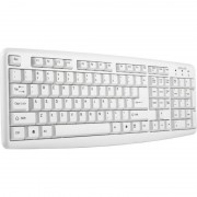 Tastatura ActiveJet K-1013 PS/2 White