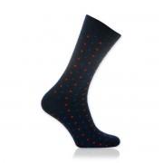 Férfi zokni Willsoor 9509 sötétkék