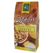 Musli crunchy bio Matinee cu iaurt si lamaie