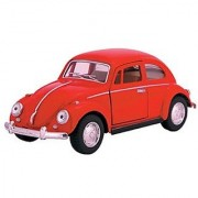 Die Cast 1967 Volkswagen Classical Beetle car 1:32 scale - Available in Red Black Yellow or Blue - Only one included
