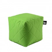 Extreme Lounging B-Box quilted poef-lime groen
