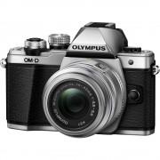 Olympus OM-D E-M10 Mark III Aparat Foto Mirrorless 16MP MFT 4K Kit cu Obiectiv EZ-M 14-42mm F3.5-5.6 IIR Argintiu
