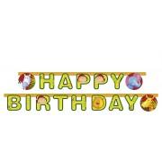 Ghirlanda petrecere Happy birthday safari