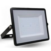 LED reflektor , 50 Watt , Ultra Slim , hideg fehér , SAMSUNG chip , 5 év garancia , fekete