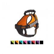 Chai's Choice Service Dog Vest Harness, Orange, Large