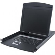 Intellinet Console KVM Switch 16 porte USB/PS2 con LCD 19'' da Rack 19''