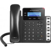 Phone, GRANDSTREAM GXP1628, VoIP with 2 lines, PoE, 3-way conference, 8 BLF keys, Gigabit ports