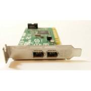 Placa Firewire Dell 0J886H, FAE 10 AM1, 2 x Firewire IEEE1394, PCI, Low profile