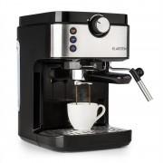 Klarstein BellaVita Espresso, кафе машина, 20 бара, 1575 W, 900 ml, сребърна (COF8-BellaV espresso)