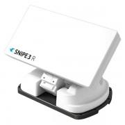 Selfsat Snipe 3 V3 R Single mit Fernbedienung Vollautomatische Sat Camping Antenne für 1 Teilnehmer