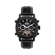 【85%OFF】420-H Skyray PVD black クッション ウォッチ ブラック ファッション > 腕時計~~メンズ 腕時計