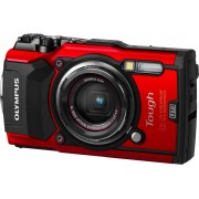 "Olympus V104190re000 Fotocamera Digitale Compatta 12 Megapixel Filmati 4k Display 3"" Gps Colore Rosso - Tough Tg-5 V104190re000"