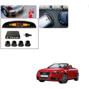 Auto Addict Car Black Reverse Parking Sensor With LED Display For Audi A3 Cabriolet