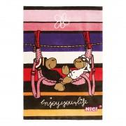 Tapijt Jolly Bob en Lovely -bruin/roze