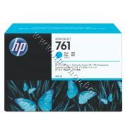 Мастило HP 761, Cyan (400 ml), p/n CM994A - Оригинален HP консуматив - касета с мастило