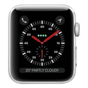Apple Watch Series 3 (GPS) SOLAMENTE CUERPO, Aluminio en Plata, 38mm, B