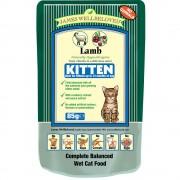 James Wellbeloved Kitten Lamb Complete Wet Food 85g