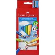 Faber-Castell Jumbo színes ceruza készlet - 20 db