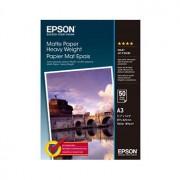 Epson A3 Matte Paper Heavyweight, 50 ark, 167g/m2