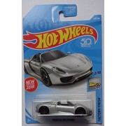 Hot wheels 2018 Factory Fresh Porsche 918 Spyder 184/365, Silver