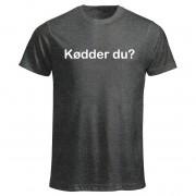 T-shirt Kødder du? SKAM Herr