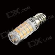 HZLED E14 3.5W 350lm 3000K 51-SMD 2835 LED caliente luz blanca Maiz lampara - Blanco (AC 220 ~ 240V)