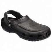 Crocs - Yukon Vista Clog - Sandales de marche taille M12, noir