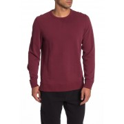 JASON SCOTT Maddux French Terry Sweatshirt BURGUNDY