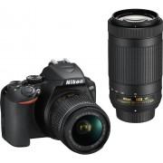 NIKON D3500 + 18-55mm AF-P VR G + 70-300mm AF-P VR G