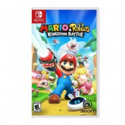 Nintendo Switch Juego Mario Plus Rabbids Kingdom Battle