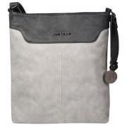 JustBag Femeie Grey / gri Dark geantă de mână YF1708-770