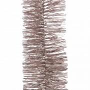 Decoris Feest lametta guirlande lichtroze 270 cm versiering/decoratie