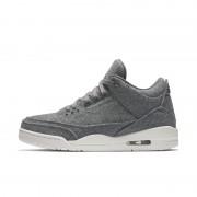 Chaussure Air Jordan 3 Retro pour Homme - Gris