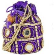 Motherland Stylish Gift Case (Pack of 2) Potli(Multicolor)