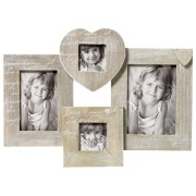 Walther Le Coeur brown 4 photos Wooden Frame Gallery QH499P