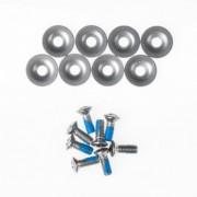 GRAVITY skrutky BINDING SCREWS 8 KS silver Velikost: UNI
