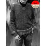 Elle Creazioni Kansas Sweater Red/Dark Beige