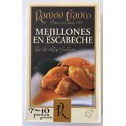 Mejillones en escabeche Ramon Franco ol-120 7/10 piezas.