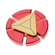 Röd Iron Man Inspirerad Metall Fidget Spinner