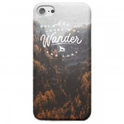 Back To The Future Funda Móvil Not All Those Who Wander Are Lost para iPhone y Android - iPhone 6 Plus - Carcasa doble capa - Brillante