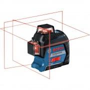 Nivela laser cu linii Bosch GLL 3-80 + stativ BT 150