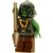 lego Castle minifig Fantasy era Troll Warrior 2 orc