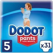 Dodot Fraldas Dodot Pants T5 31 uds