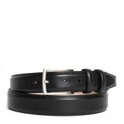 Made In Italy Cintura Uomo in Pelle Nera 3,5cm