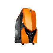 RaidMax Caja Gaming Ninja II naranja